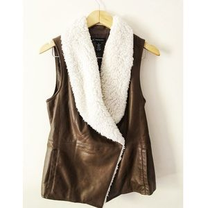 INC vest with fur